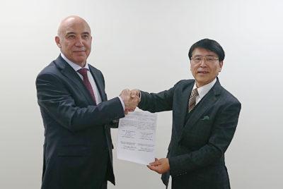 ウズベキスタン共和国保健省とMOU(覚書)を締結