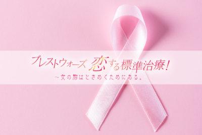 乳がん患者支援「ブレストウォーズ 恋する標準治療!」に協賛しました